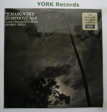 SPA 206 - TCHAIKOVSKY - Symphony No 4 SZELL London SO - Excellent Con LP Record