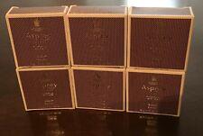 6 pc Asprey London Purple Water Luxury Spa Soap Bars - Ritz Carlton