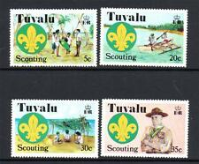 TUVALU MNH 1977 SG73-76 50TH ANV OF SCOUTING IN THE CENTRAL PACIFIC