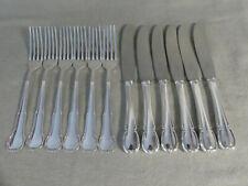 WMF 3200 Barock Vorspeise Besteck 12 Teile 90er Silberauflage