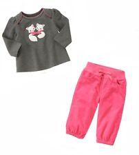 NWT Gymboree 0 3 6 9 12 mos CIRCUS STAR Red Kitties Cat Swing Top Pants 2pc Set