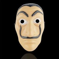 La Casa De Papel Money Heist Mask Salvador Dali  Money Heist Cosplay Spoof Props