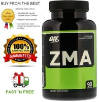 OPTIMUM NUTRITION ZMA 90C OR 180C INCREASE STRENGTH & POWER + FREE SHIPPING