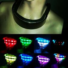 RGB Programmable LED Day/Night Cyclops Sunglasses w/controller & Battery Pack