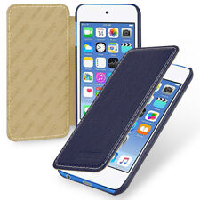 for Apple iPod Touch 6th Genuine Leather Snap Hard Shell Case Cover (9Color)
