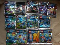 NEW LEGO FOIL PACK NEXO CHIMA MINI SET POLY BAG. NO MINIFIGS CHOOSE 1 U WANT