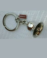 COACH Bell Keychain RARE NWOT