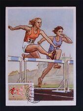 RUSSIA MK 1968 OLYMPICS OLYMPIA RUNNING MAXIMUMKARTE MAXIMUM CARD MC CM c7054