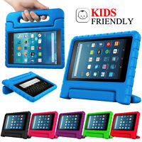 """For Amazon Fire 7"""" HD 8"""" Tablet ShockProof EVA Handle Kids Stand Cover Case"""