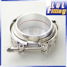 "2.5"" Clamp Aluminum V-Band Vband Flange Turbo Intercooler Piping Kit"