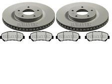 fits NISSAN QASHQAI 1.5 DCI 1.6 2.0 FRONT BRAKE DISCS & PADS (296MM) CHECK SIZES