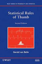 Statistical Rules of Thumb by Gerald Van Belle (Paperback, 2008)