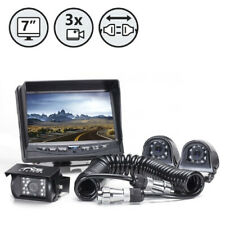 Rearview Safety Backup Camera System w/Side Cameras & Multi-Camera Quick Connect