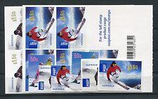Australia 3598/3603 + 2 diapositive FOGLI POST freschi/Sport invernali... 1/1524