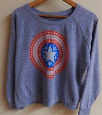 Girls size 16 Marvel Captain America Christmas Shield EUC