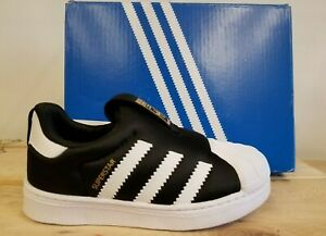 Adidas Classic Superstar 360 I Black Sneaker Shoes For Kids S82711/ S32130