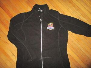 TOLEDO MUD HENS FLEECE JACKET Embroidered Muddy Logo Minors Baseball Womens XL