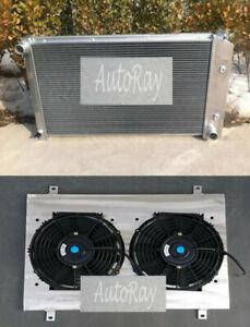 5 Row Aluminum Radiator+Shroud+FAN For Pontiac Firebird Trans Am 1970-1981 75 AT