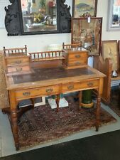 More details for victorian walnut writing table