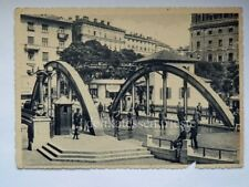 FIUME Ponte confine Italia Jugoslavia AK vecchia cartolina Istria