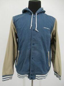 M1491 VTG Carhartt Men's Hood Varsity Robson Jacket Size L