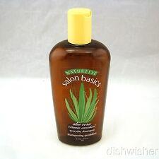 Naturelle Salon Basics ALOE VERA Everyday Shampoo 12 oz 300 ml NEW