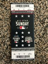 2018 MLB All Star Game TICKET STUB FUTURES GAME 7/15 WASHINGTON, DC