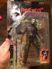 McFarlane Toys Jason Voorhees Friday the 13th Movie Maniacs Bloody variant