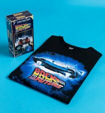 Official Black Back To The Future T-Shirt in VHS Box from Funko