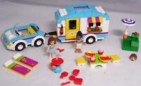 LEGO Friends 41034 Wohnwagen-Ausflug Auto Olivia Joanna Igel Tisch Hocker #18