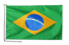 More details for brazil flag with rope and toggle - various sizes