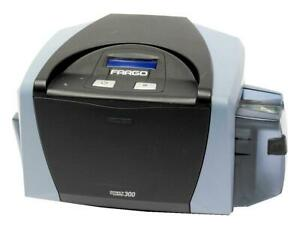 Fargo DTC300 044000 Single Side Mag Stripe Encoder ID Card Thermal Printer USB