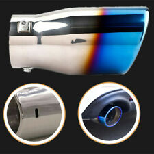 Car Modified Exhaust Tail Muffler Tip Pipe Trim Roasted blue Stainless Steel Tip