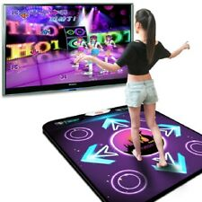 UK Funny USB Non-Slip Dancing Step Dance Mat Pad for PC TV AV Video 94x82x1.1cm