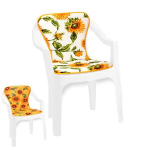 Cuscino sedia morbido girasoli poltrona coprisedia casa bar hotel giardino dehor