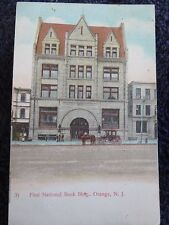 1911 The First National Bank Building in Orange, NJ New Jersey PC