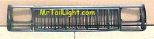 91 96 Jeep Cherokee 3Pc Black Grill Kit New With Head Light Doors 92 93 94 95