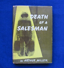 ARTHUR MILLER DEATH OF A SALESMAN 1st Ed in DJ FINE