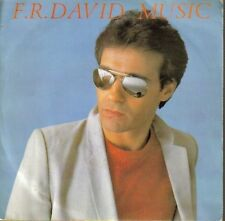 "F.R. DAVID - MUSIC + GIVIN IT UP SINGLE 7"" VINILO 1983 SPAIN GOOD CONDITION"