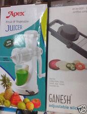 COMBO PACK APEX FRUIT & VEGETABLE JUICER + FRUIT & VEGETABLE Slicer & Chopper