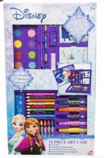 Official Disney Frozen 52 Piece Colouring Art Case School Set Included 2 Sheet!