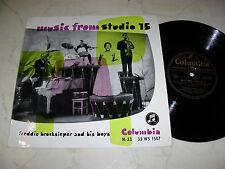 """10"""" FREDDIE BROCKSIEPER Music From Studio 15 *H.Brandenburg,C.Diernhamme u.a."""