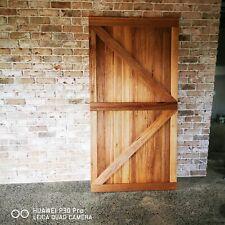 Custom handmade barn doors, any Style, any size available