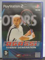 AGASSI TENNIS GENERATION in ITALIANO PAL COMPLETO per PS2 PLAYSTATION 2