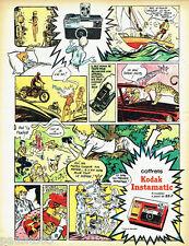 PUBLICITE ADVERTISING 125  1970  Kodak coffrets appareil photo INSTAMATIC