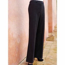 Wool Blend Tailored Trousers for Women