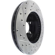 Disc Brake Rotor-Sport Drilled/Slotted Disc Front Left Stoptech 127.61047L