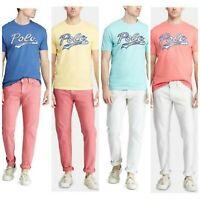 Polo Ralph Lauren Men's Tee Red Size L Montauk Hawaiian Limited Edition T-Shirt