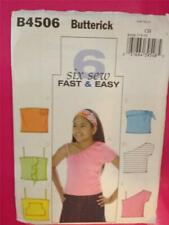 Butterick Sewing Pattern 4535 Girls Boys Childs Hooded Pullover Size 7-14 S-L UC
