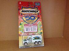 Matchbox Across America 2001- Wisconsin Peterbilt Tanker